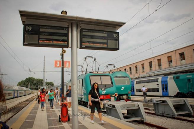 venice italy train