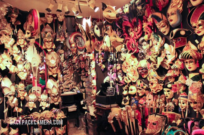3. Buy a Venetian mask