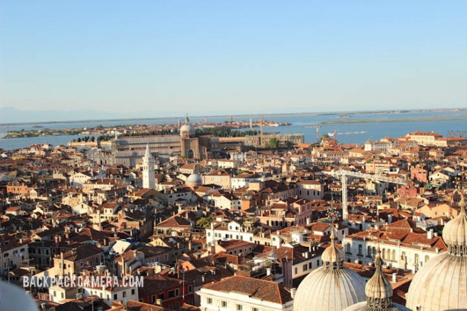 Go on top of the San Marco Campanile